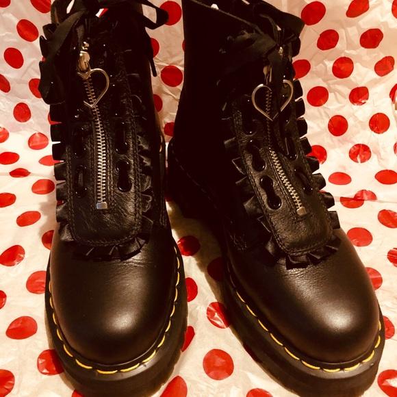 Dr.martens X Lazy Oaf Pink Buckle Boot Women's UK 8us 10